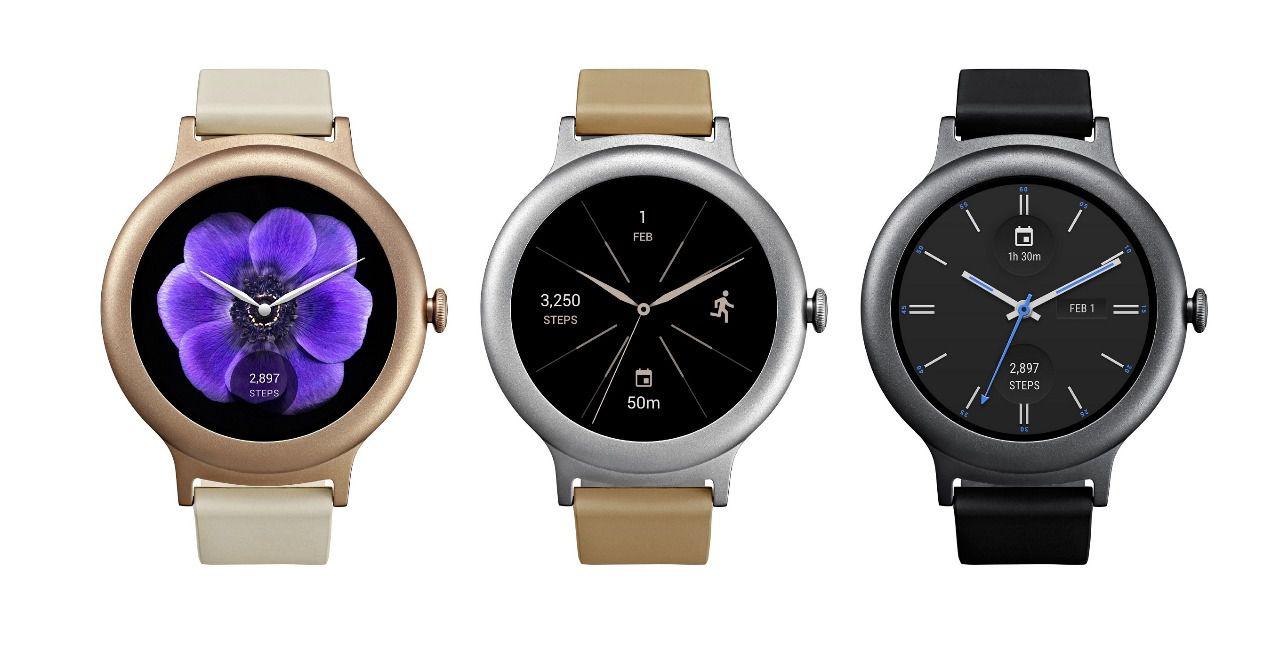 Primeros smartwatches con android wear 2.0 de LG y Google | Imagenacion