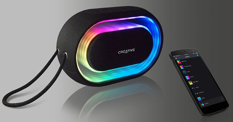 Creative Halo, música y luces en un altavoz | Imagenacion