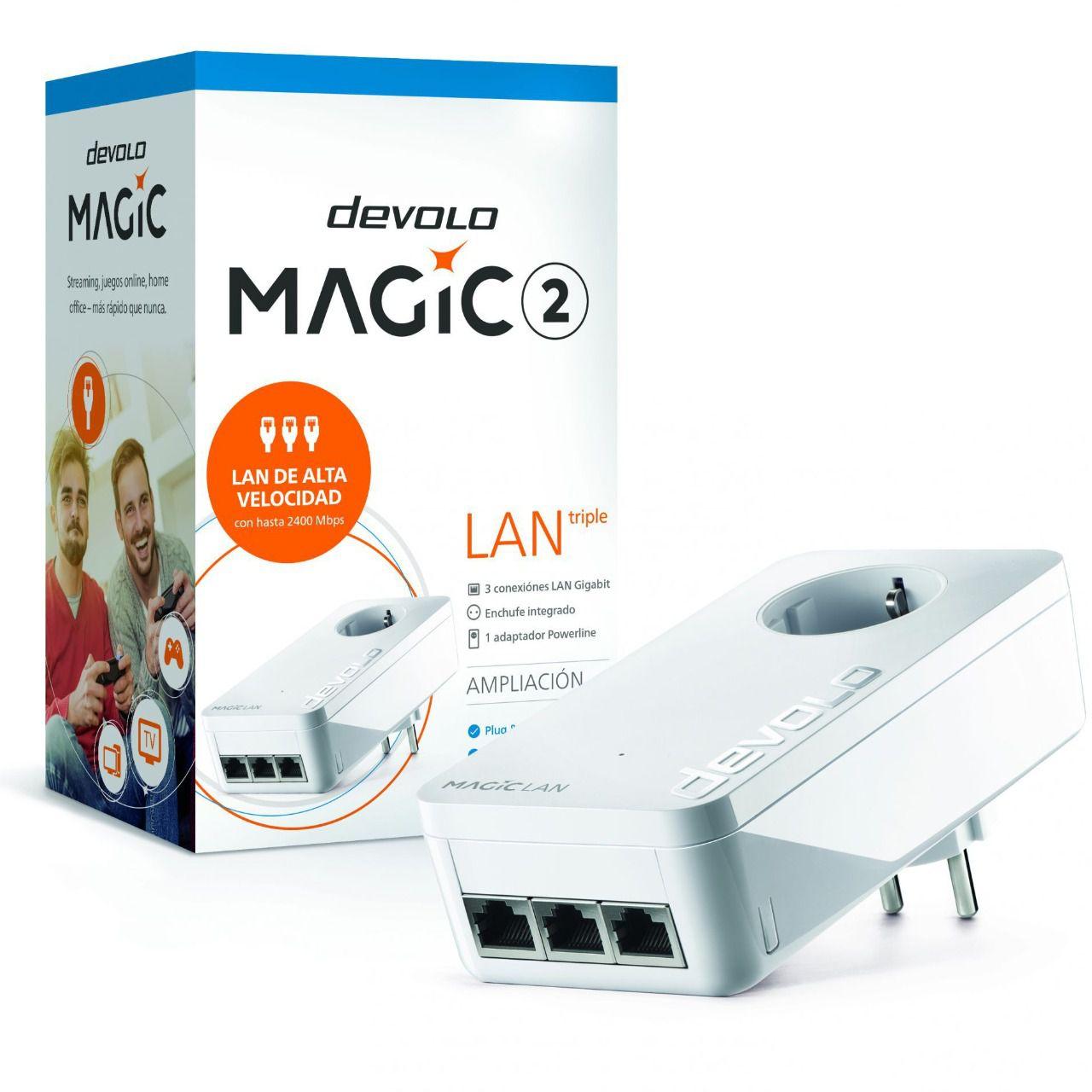 """Devolo presenta nodevadades """"mágicas"""": tres puertos Gigabit LAN súper rápidos en cualquier lugar   Imagenacion"""